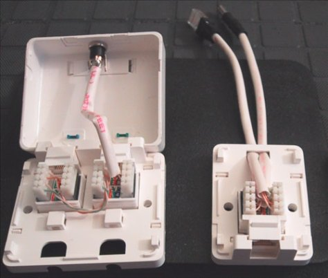 Cableends in addition Wiring additionally Figurewiring Diagram Ether  Crossover furthermore How To Install An Ether  Jack For A Home  work additionally Medium Dependent interface. on rj45 wiring diagram power over ethernet