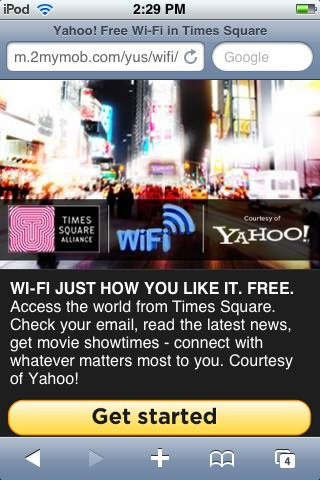 Times Square Home Page
